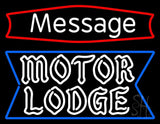 "Custom Personalized Motor Lodge Neon Sign 24"" Tall x 31"" Wide x 3"" Deep"