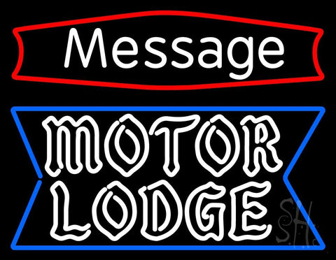 Custom Personalized Motor Lodge Neon Sign 24