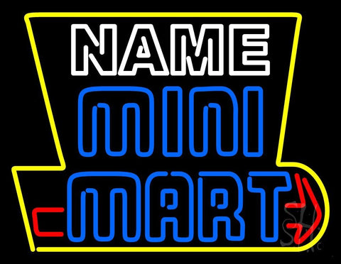 Custom Mini Mart Neon Sign 24