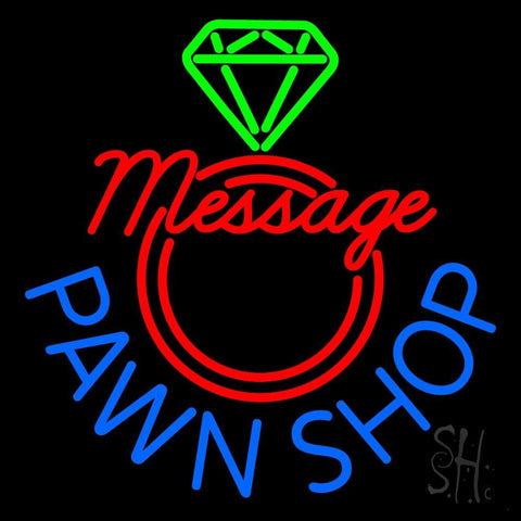 Custom Pawn Shop Neon Sign 24