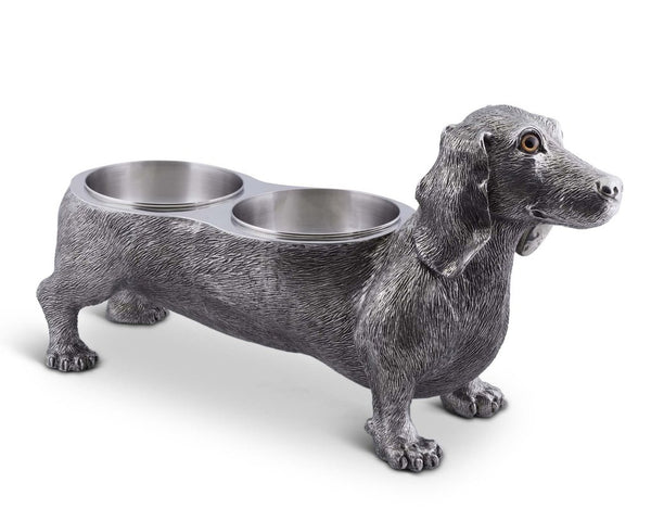 Vagabond Pewter Dog Bowl