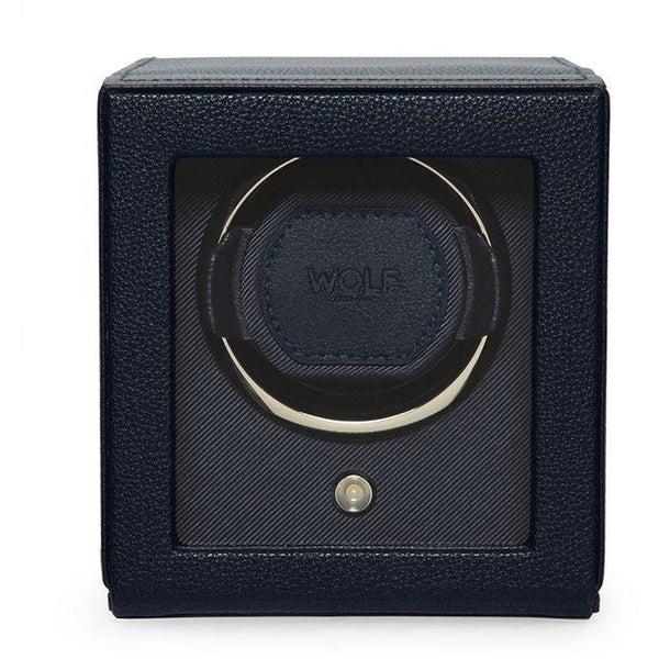Wolf 1834 Cub Single Watch Winder in Navy