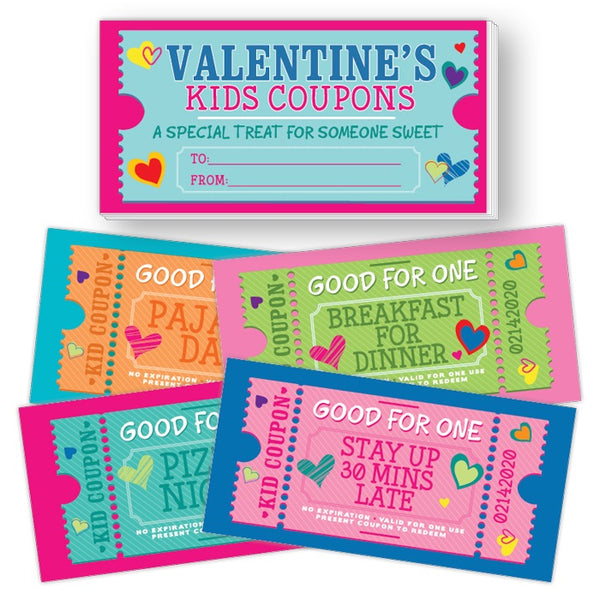 Valentine Coupon Book For Kids
