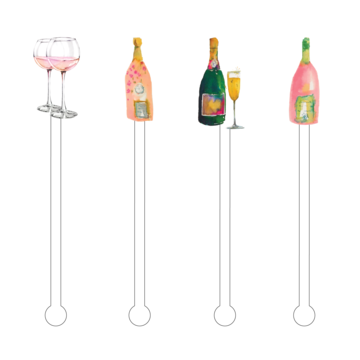 Acrylic Cocktail Stir Sticks