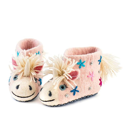 Eunice Unicorn Slippers