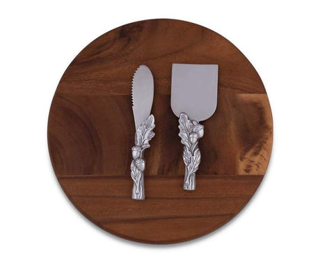 Acorn Three Piece Cheese Set