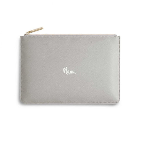 Katie Loxton London | Perfect Pouch | Mama | Grey