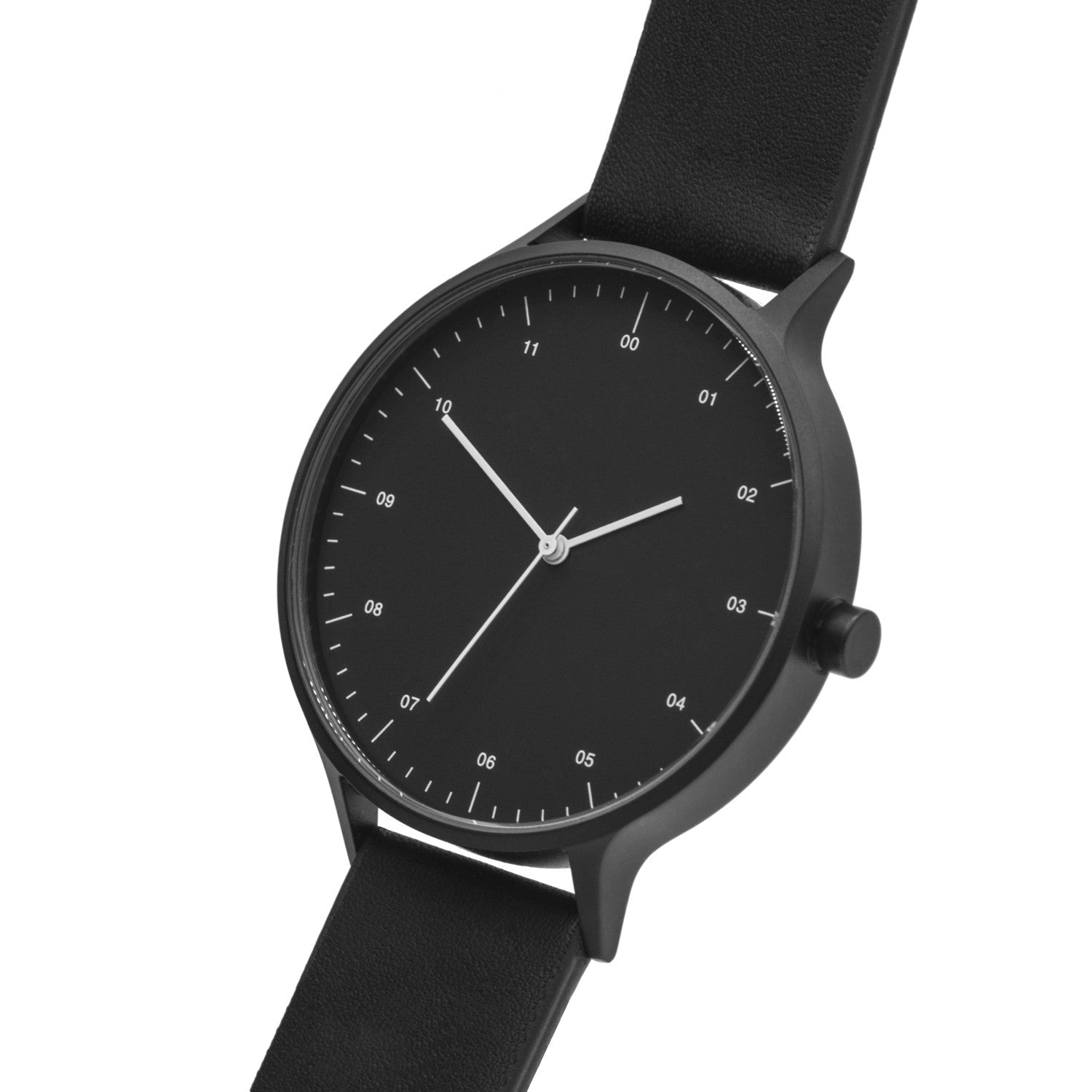 lane black south collection pvd watch pure avant watches studio london products