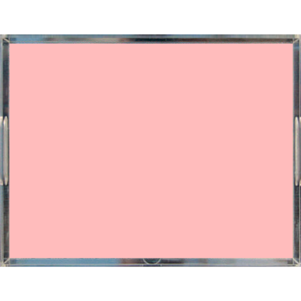 Blush Pink Pastel Acrylic Lucite Trays, 2 Sizes