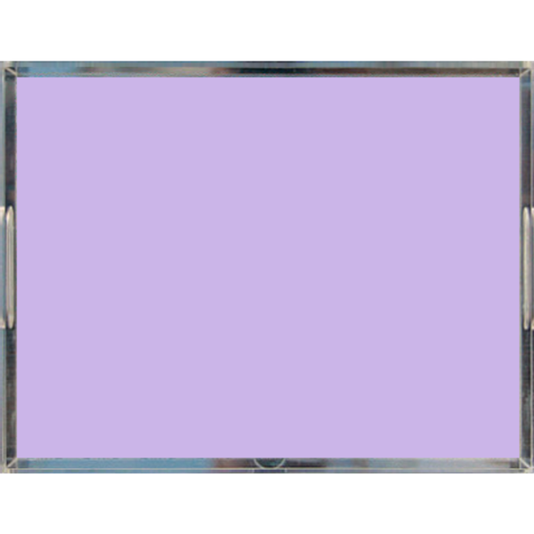 Lavender Pastel Acrylic Lucite Trays, 2 Sizes