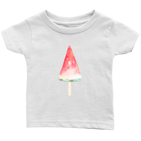 Baby Tshirt Watermelon Ice Cream Pop 6mos - 24 mos