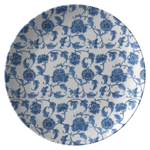 Chinoiserie Floral Dinner Plate