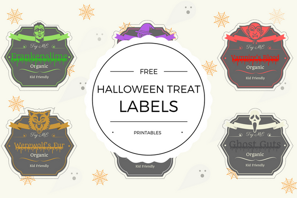 Free Halloween Treat Label Printables