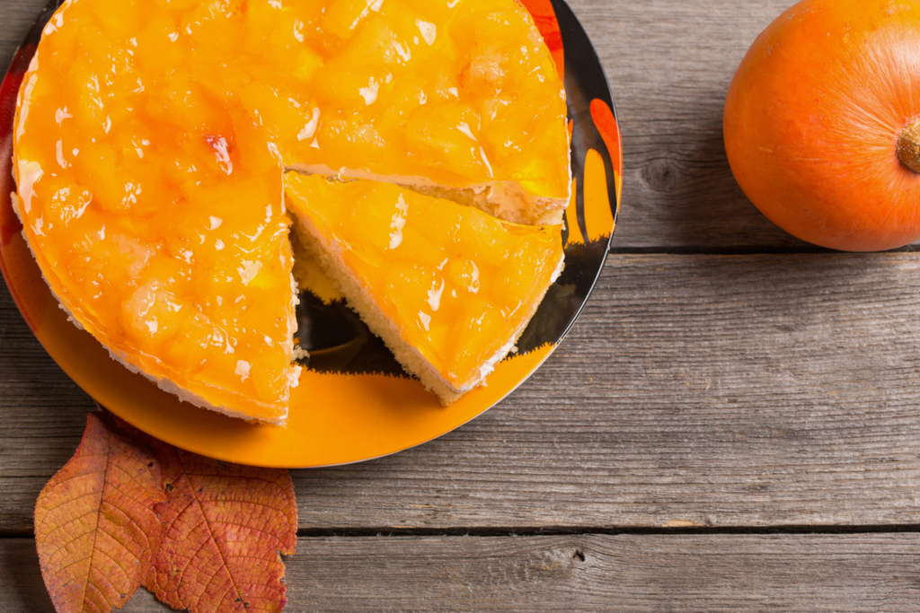 Naked Fresh Pumpkin Pie