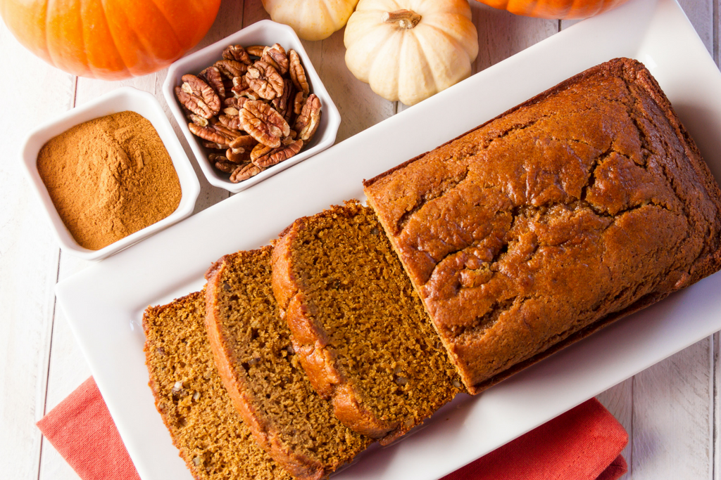 Pumpkin Applesauce Spice Bread