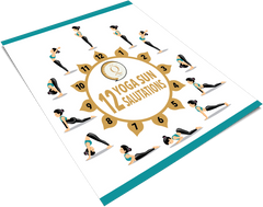 Quan Jewelry 12 Sun Salutations for Yoga