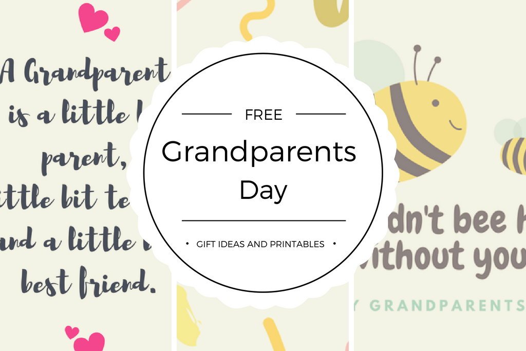 photo regarding Printable Grandparents Day Card identify Pleased Grandparents Working day Reward Guidelines and Greeting Card