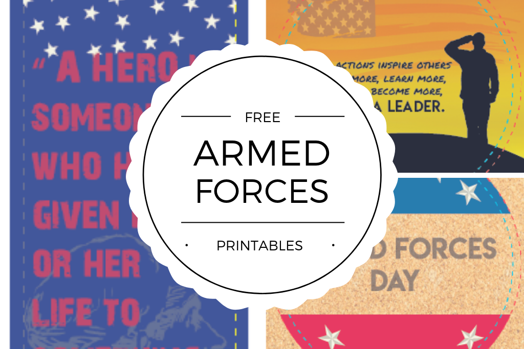 Quan Jewelry Free Armed Forces Printables