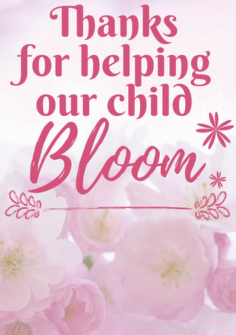 graphic relating to Thanks for Helping Me Bloom Printable identify No cost Printable Trainer Appreciation Thank oneself Playing cards - Quan