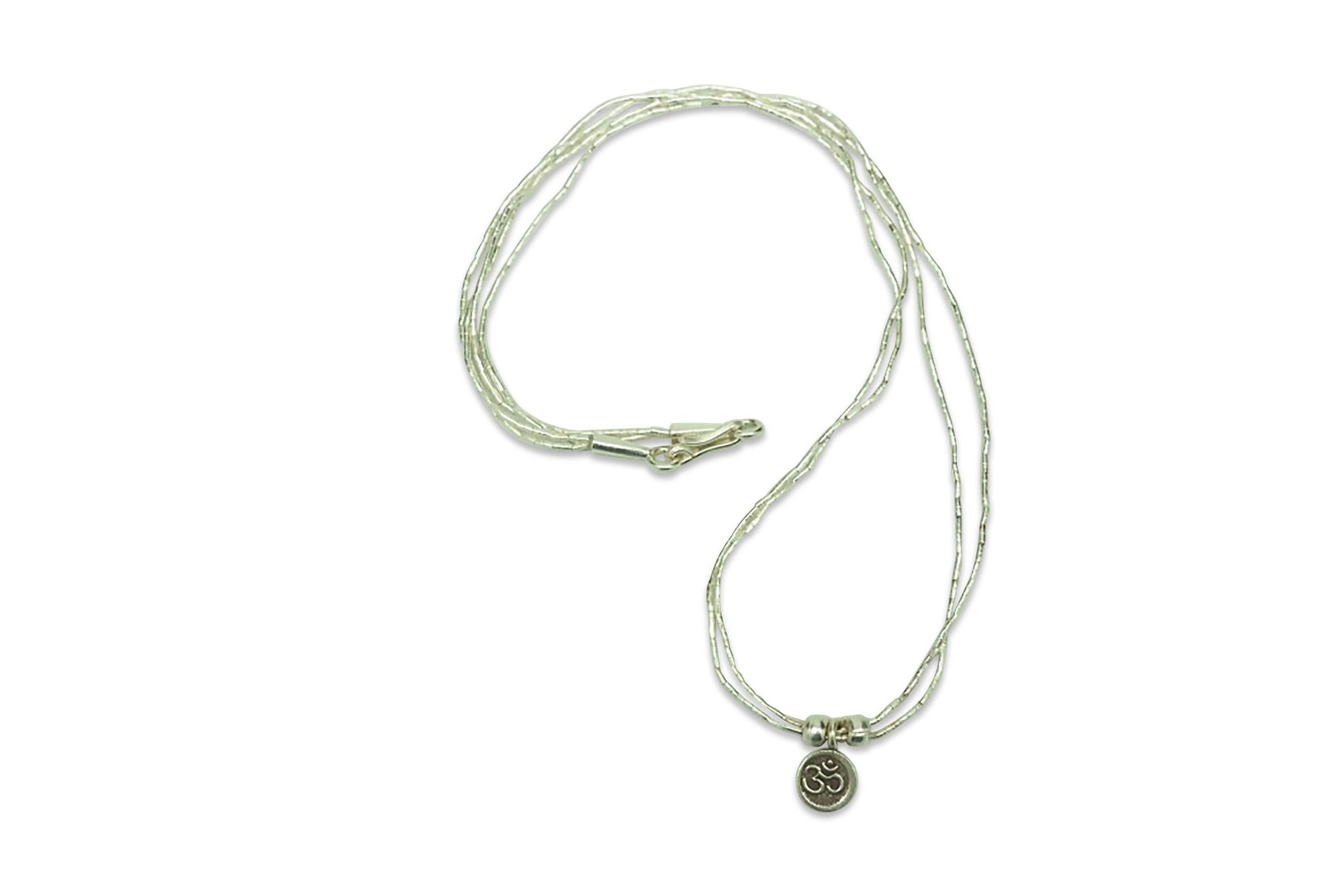Kalaya Double Strand Om Necklace - Quan Jewelry