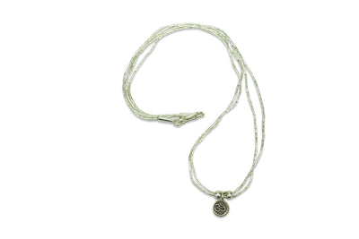 Kalaya Double Strand Om Necklace