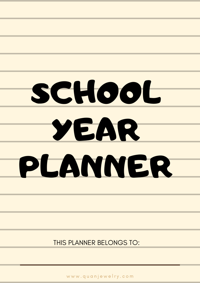Free Back to School Printables 2019 Edition