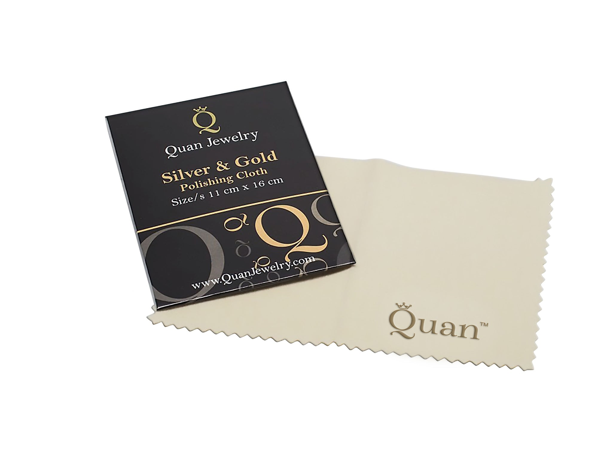 Quan Jewelry Silver Polishing Cloth