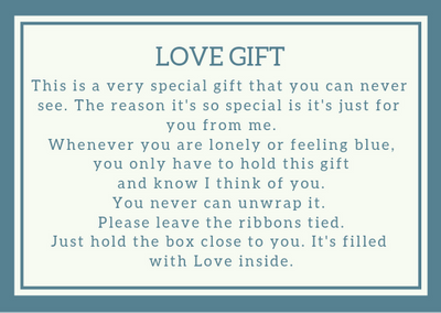 Free Love in a Box Gift Printables