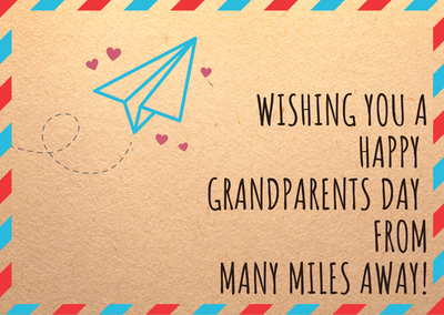 Free Happy Grandparents Day Greeting Card Printables