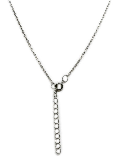 Stella Mother & Daughter Necklace with Two Interlinked Hearts Pendant,  - Quan Jewelry - 8