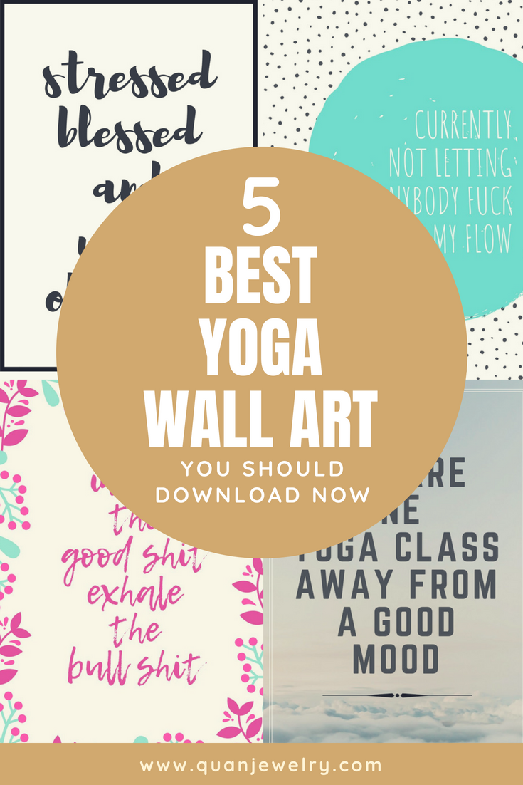 Free Funny Yoga Quotes Wallpaper Wall Art Printables