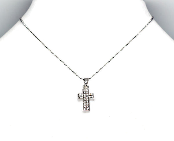 Nadia Cross Necklace - Quan Jewelry