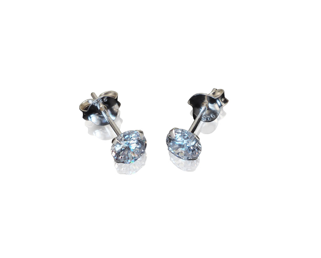 Clarisse Ear Jacket, Cubic Zirconia Earrings (2 Earrings in 1) - Quan Jewelry