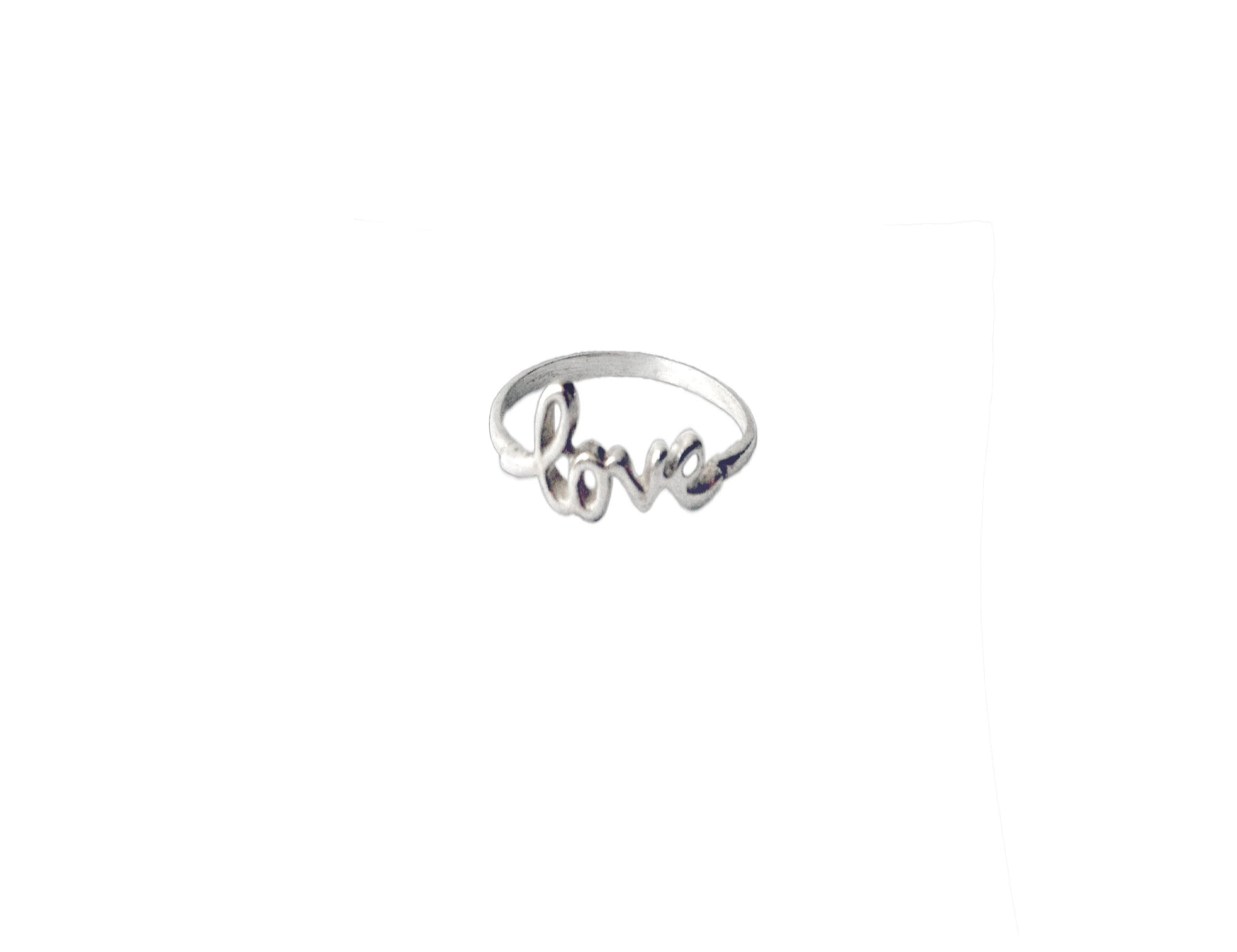 Carina Love Script Ring