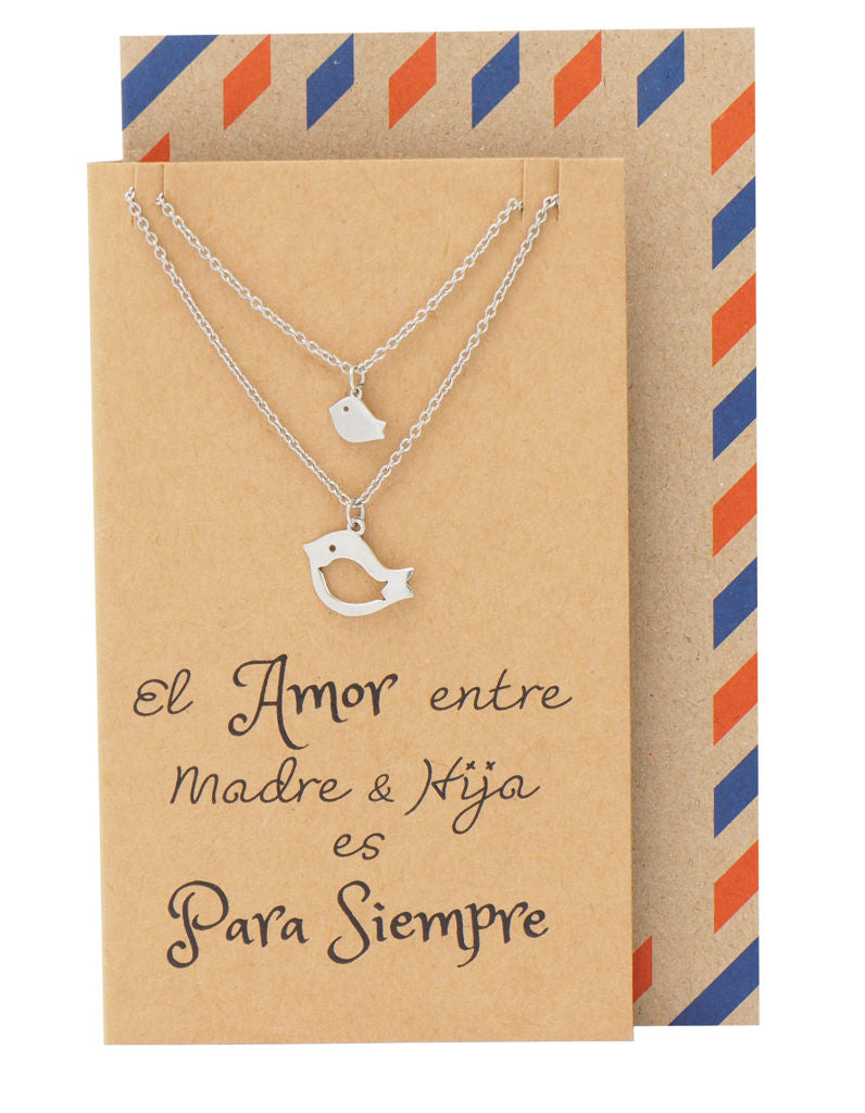 Mina Mother Daughter Necklace