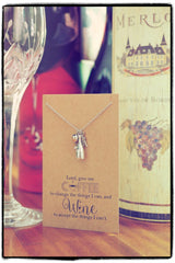Coffee and Wine Necklace, Personalized Gifts for Her - Quan Jewelry 6