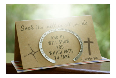 Religious Jewelry with Inspirational Quote