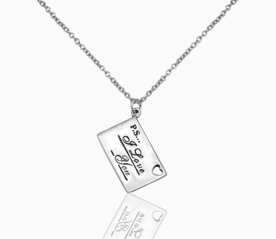 Davanee Happy Birthday Granddaughter Necklace Jewelry, Inspirational Quote Card