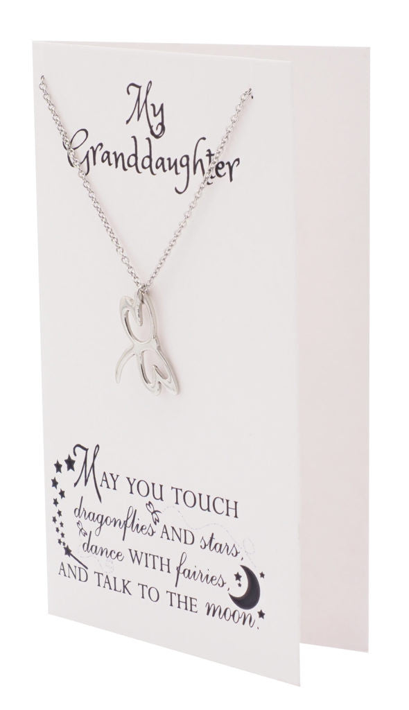 Dragonfly Necklace Inspirational Jewelry, Happy Birthday Granddaughter Gifts - Quan Jewelry 2