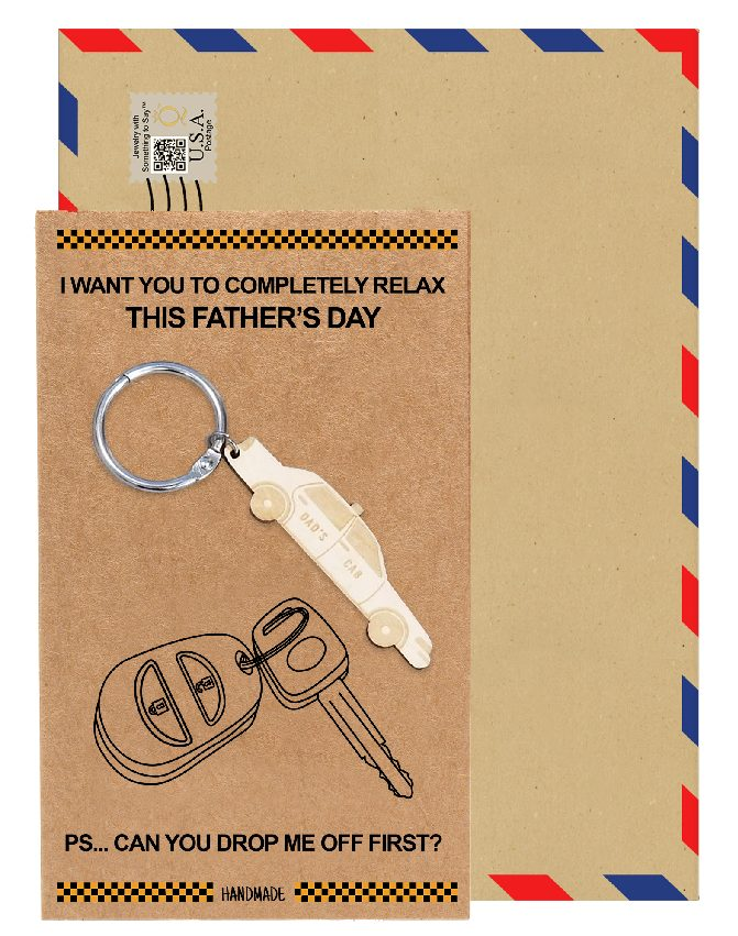 Marcus Car Key Chain Gifts For Dad Funny Gifts Fathers