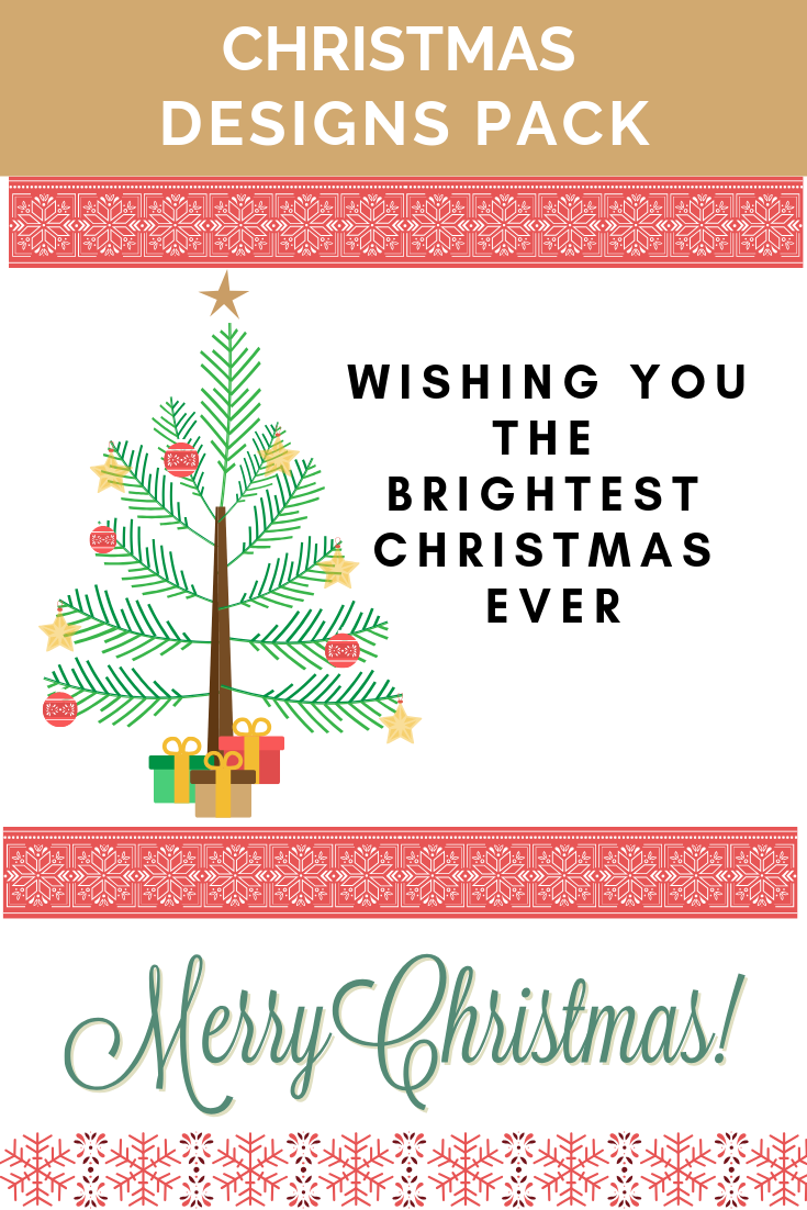 Free Christmas Designs Pack Printables