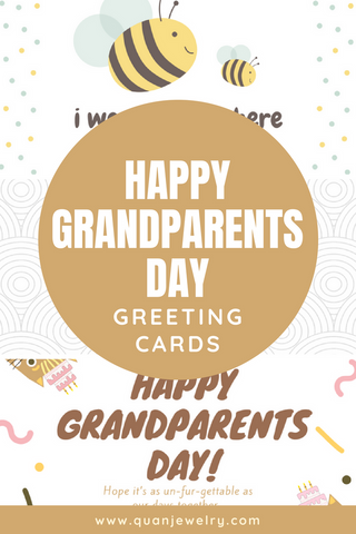 Free Happy Grandparents Day Greeting Card Printables Quan Jewelry
