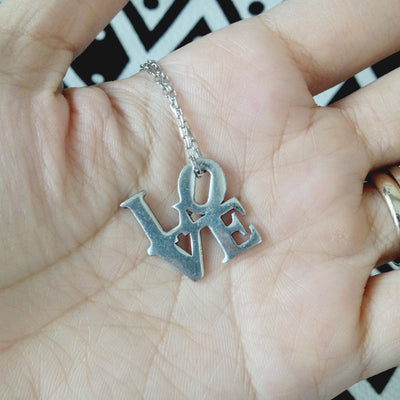 Zoe I Heart You Necklace with Love Pendant - Quan Jewelry
