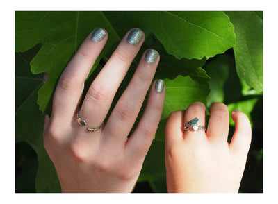 Mother Daughter Rings, Bird Ring