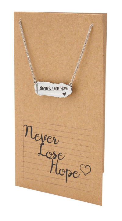 Susan Never Lose Hope Inspirational Jewelry