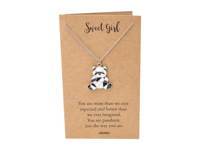 Maisie Panda Pendant Necklace