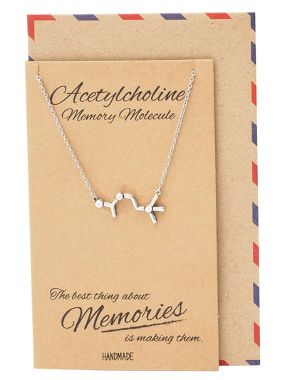 Science Jewelry with Greeting Card
