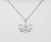 Amara Yoga Jewelry, Lotus Flower Necklace, Om Necklaces for Women