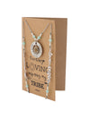 Kamari Teacher Face Mask Lanyard Necklace with Inspirational Greeting Card