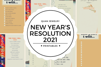 Free New Year's Resolution List for 2021